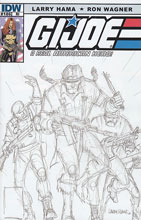 Image: G.I. Joe: A Real American Hero #186 (10-copy incentive cover)