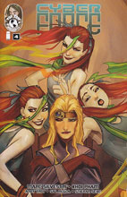 Image: Cyber Force #4 (100-copy Sejic variant - cover D)