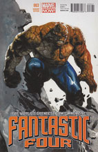 Image: Fantastic Four #3 (Dell'otto variant cover) - Marvel Comics