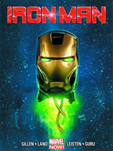 Image: Iron Man #5 (2nd printing variant)