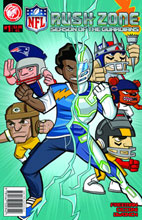 Image: NFL Rush Zone: Season of the Guardians #1 - Action Lab Entertainment