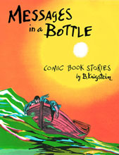 Image: Messages in a Bottle: Comic Book Stories by B. Krigstein SC  - Fantagraphics Books