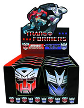 Image: Tranformers Candy Tin 12-Count Display  - Candy, Confections And Drinks