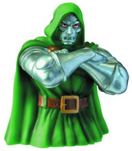Image: Doctor Doom Bust Bank  - Marvel Heroes Collectibles & Novelties
