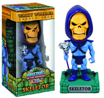 Image: Master of the Universe Wacky Wobbler Bobble-Head: Skeletor  - Movie/Tv Collectibles & Novelties