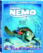 Image: Finding Nemo Blu-Ray+DVD  - Animation Dvds & Digital Media