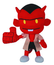 Image: Hellboy Plush: Itty Bitty Hellboy  - Dark Horse Comics