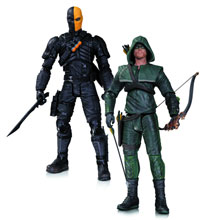 Image: Arrow Action Figure 2-Pack: Oliver Queen & Deathstroke  - DC Direct