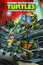 Image: Teenage Mutant Ninja Turtles: New Animated Adventures Vol. 01 SC  - IDW Publishing