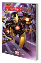 Image: Iron Man Vol. 01: Believe SC  - Marvel Comics