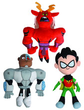 Image: Teen Titans Go! 7-inch Plush Assortment  -