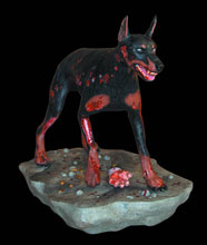 Image: Resident Evil Zombie Dog 1/6 Scale Statue  -