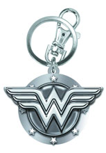 Image: Wonder Woman Symbol Pewter Keyring  -