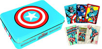 Image: Captain America Playing Card Gift Tin  -