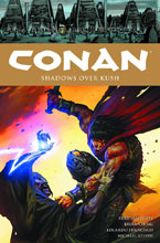 Image: Conan Vol. 17: Shadows Over Kush HC  - Dark Horse Comics