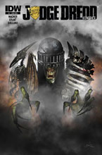 Image: Judge Dredd Classics: The Dark Judges #1 (Shearon subscription cover) - IDW Publishing