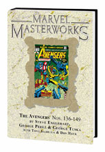 Image: Marvel Masterworks Vol. 217: The Avengers Nos. 136-149 HC  - Marvel Comics