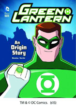 Image: DC Comics Super Heroes: Green Lantern - An Origin Story SC  (young reader) - Capstone Publishing