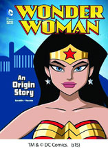 Image: DC Comics Super Heroes: Wonder Woman - An Origin Story SC  (young reader) - Capstone Publishing