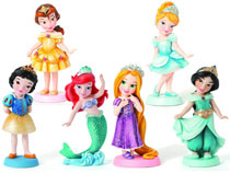 Image: Disney Showcase Little Princesses 12--Piece Ppk  -