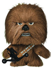 Image: Fabrikations Star Wars Soft Sculpt Plush Figure 013: Chewbacca  -