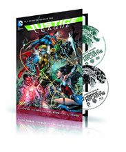 Image: Justice League: Throne of Atlantis HC Book & DVD/BluRay Set  - DC Comics