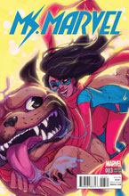 Image: Ms. Marvel #3 (variant cover - Tarr) - Marvel Comics