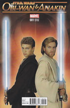 Image: Obi-Wan and Anakin #1 (Movie photo variant cover - 00161) - Marvel Comics
