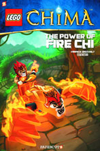Image: Lego Legends of Chima Vol. 06: Playing with Fire SC  - Papercutz