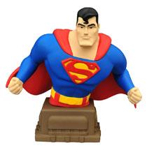 Image: Superman: Animated Series Bust - Superman  -