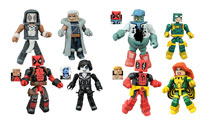 Image: Marvel Minimates Series 65 Deadpool Assortment  -