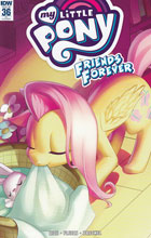 Image: My Little Pony: Friends Forever #36 (incentive cover - Low Zi Rong) (10-copy)  [2016] - IDW Publishing