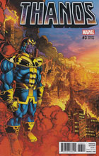 Image: Thanos #3 (variant cover - Broderick) - Marvel Comics