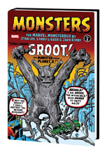 Image: Monsters Vol. 01: The Marvel Monsterbus by Stan Lee, Larry Lieber & Jack Kirby HC  - Marvel Comics