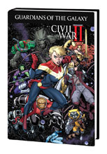 Image: Guardians of the Galaxy: New Guard Vol. 03 - Civil War II HC  - Marvel Comics