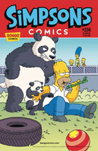Image: Simpsons Comics #236 - Bongo Comics