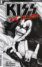 Image: Kiss: The Demon #1 (Strahm b&w incentive cover - 01051) (10-copy)  [2016] - Dynamite