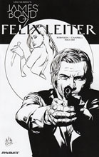 Image: James Bond: Felix Leiter #1 (cover C incentive - B&W) (10-copy)  [2016] - Dynamite
