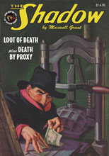 Image: Shadow Double-Novel Vol. 114: Death by Proxy & Loot of Death SC  - Sanctum Productions