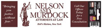 Image: Marvel Bumper Sticker: Nelson & Murdock, Attourneys at Law  - Elephant Gun, LLC