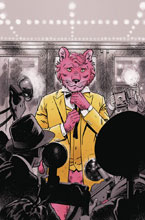 Image: Exit Stage Left: The Snagglepuss Chronicles #1 (variant cover - Evan Doc Shaner) - DC Comics