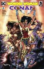 Image: Wonder Woman / Conan #5 (variant cover - Neal Adams)  [2018] - DC Comics/Dark Horse