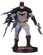 Image: DC Designer Series Statue: Metal Batman by Capullo  - DC Comics