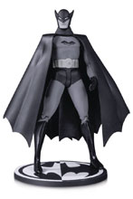 Image: Batman Black and White Action Figure: 1st Appearance Bob Kane  - DC Comics