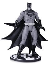 Image: Batman Black and White Action Figure: Batman by Greg Capullo  - DC Comics