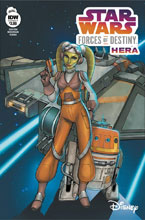 Image: Star Wars Forces of Destiny - Hera  (cover A - Eva Widermann)  [2018] - IDW Publishing