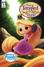Image: Tangled #1 (cover B - Funko Godwin) - IDW Publishing
