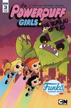 Image: Powerpuff Girls: Bureau of Bad #3 (cover B - Funko Ijiomah) - IDW Publishing