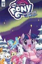 Image: My Little Pony: Legends of Magic #10 (incentive cover - Low Zi Rong) (10-copy) - IDW Publishing