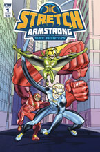 Image: Stretch Armstrong & Flex Fighters #1 (cover A - Amancio) - IDW Publishing